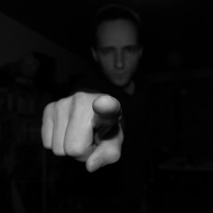 Man-Pointing-Finger